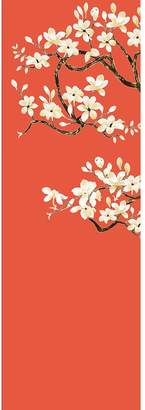 Magnolia Tree Silk & Paper Wallpaper