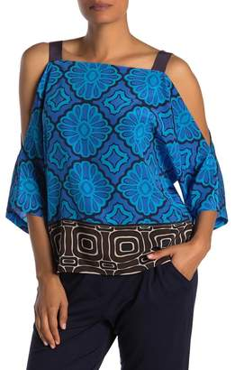 Trina Turk Costilla Printed Silk Tank Top