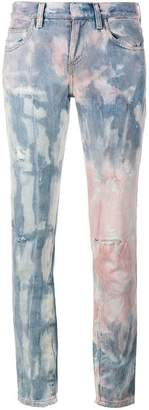 Faith Connexion Tie Die Distressed Jeans