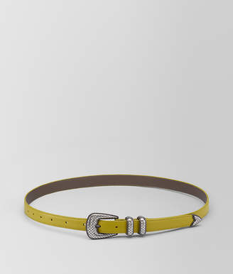 Bottega Veneta CHAMOMILE CALF BELT