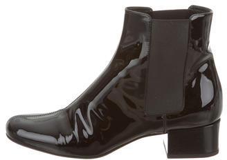 Saint LaurentSaint Laurent Patent Leather Ankle Boots