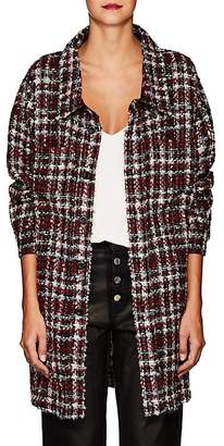 Faith Connexion Women's Mohair-Blend Tweed Jacket