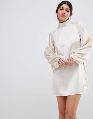 Glamorous high neck dress