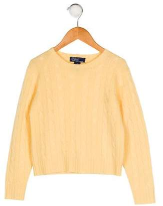 Polo Ralph Lauren Boys' Cable Knit Cashmere Sweater