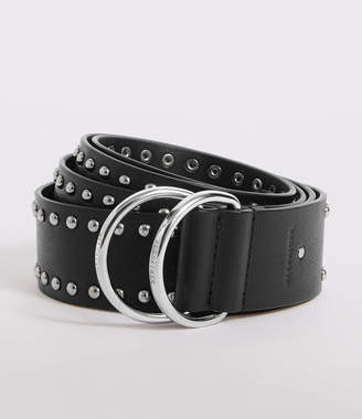 AllSaints Kira Studded Leather Belt