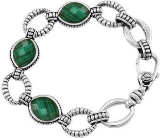 Lagos Venus Malachite Link Bracelet