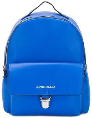 Calvin Klein Jeans printed logo backpack