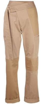 Monse Patchwork Cargo Pants