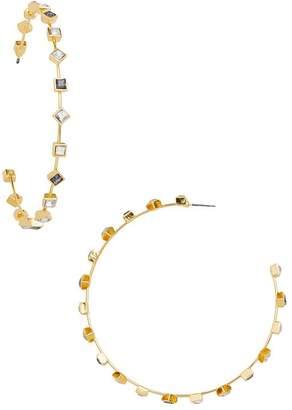 BaubleBar Elise Hoop Earrings
