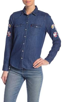 Levi's Ultimate Western Embroidered Button Down Shirt
