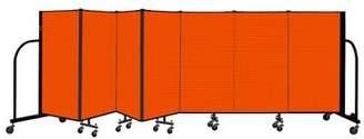 ScreenFlex Freestanding 7 Panel Room Divider ScreenFlex