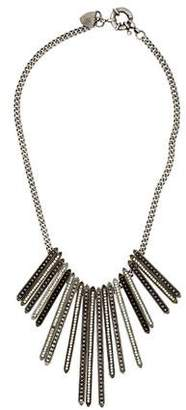 Giles & Brother Crystal Lilu Spike Necklace $225 thestylecure.com