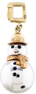 Louis VuittonLouis Vuitton Snowman Charm