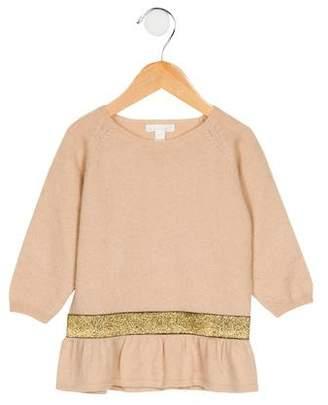 Marie Chantal Girls' Wool & Cashmere Sweater