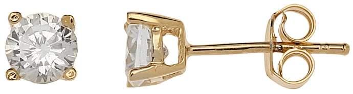 Kohl's 24k Gold-Over-Silver Cubic Zirconia Stud Earrings