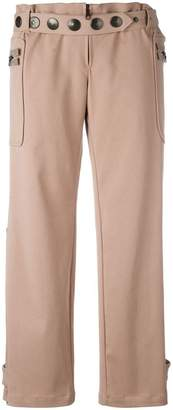 Romeo Gigli PRE-OWNED twill trousers