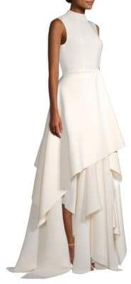 SOLACE London Serafine Sleeveless Tiered Gown