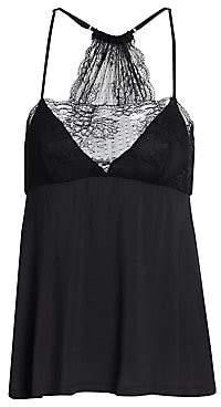 Eberjey Women's Vika Lace Trim Camisole