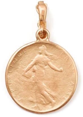 Dominique Cohen 18k Rose Gold Classic Goddess Coin Enhancer