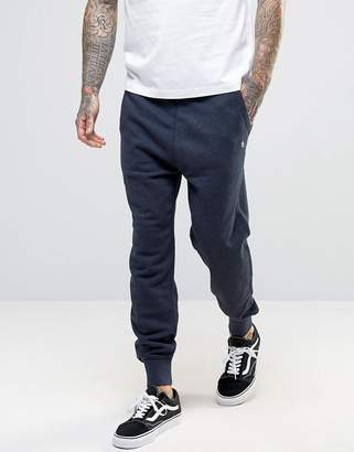 Original Penguin Cuffed Jogger Slim Fit Small Logo In Navy