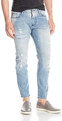 Armani Jeans Men's Light Wash Slim Fit Vintage Look