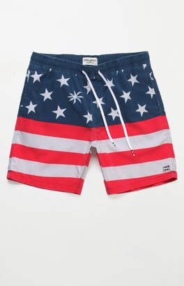 "Billabong Sundays Layback 18"" Swim Trunks"