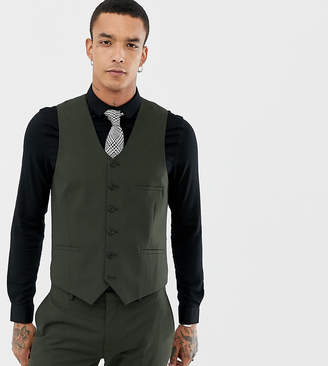 Heart & Dagger skinny suit vest