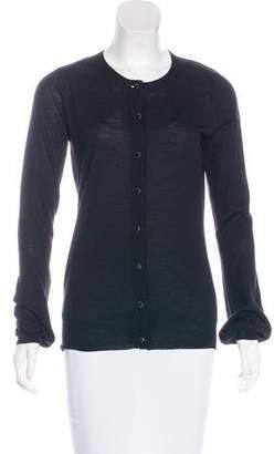 Robert Rodriguez Wool-Blend Button-Up Cardigan