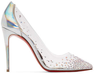 Christian Louboutin Transparent PVC Degrastrass Heels