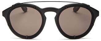 Givenchy Brow Bar Round Sunglasses, 53mm