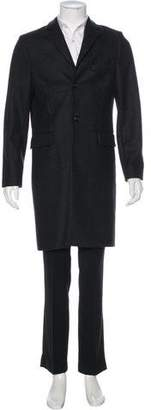 Closed Wool Three-Button Coat w/ Tags