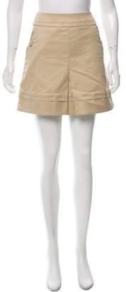 Louis Vuitton Pleated Mini Skirt