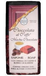 Nesti Dante Mocha Chocolate & Shea Soap Bar