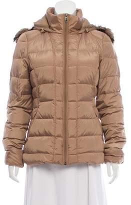 The North Face Faux Fur Trim Down Jacket