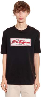 J.W.Anderson Printed Washed Cotton Jersey T-Shirt
