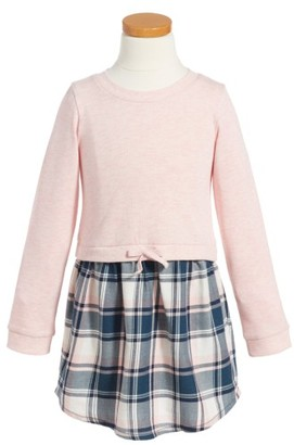 Toddler Girl's Tucker + Tate Plaid Dress $39 thestylecure.com
