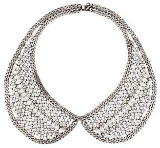 Dannijo Sparkle Chain Collar Necklace