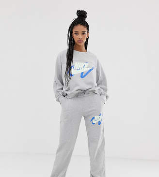 Nike Archive Exclusive To ASOS Grey Scribble Logo Joggers