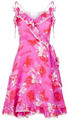 Athena Procopiou Floral Wrap Dress