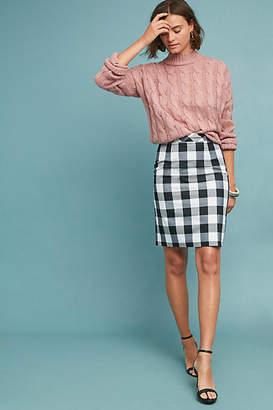 Sunday in Brooklyn Flynn Gingham Pencil Skirt