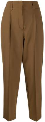 Schumacher Dorothee high-waisted pleated trousers