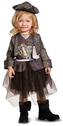 BuySeasons Pirates of The Caribbean 5 Captain Jack Inspired Tutu Classic Toddler Boys Costume