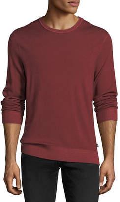 Michael Kors Washed Wool Crewneck Sweater