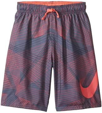 Nike Flywire Line Swoosh Breaker 8 Trunks Boy's Swimwear