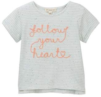 Tucker + Tate Embroidered Stripe Tee (Toddler, Little Girls, & Big Girls)