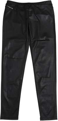 Diesel Destroyed Faux Leather Leggings