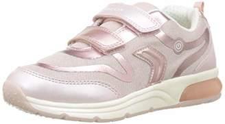 Geox Girl's Spaceclub C Light-Up Sneaker Shoe,27 M EU Little Kid (10 US)