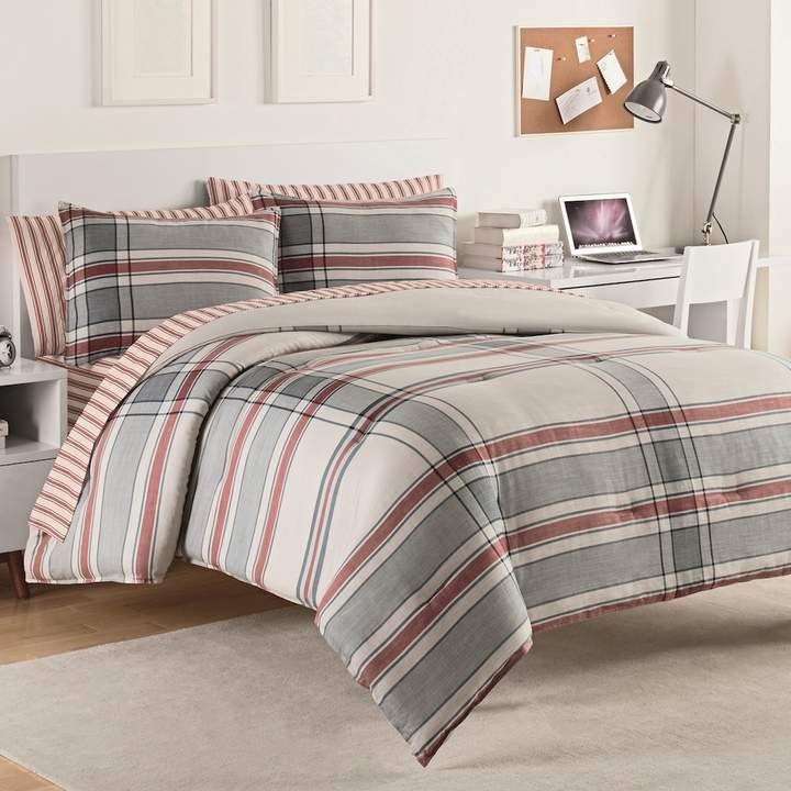 Hyde Plaid Comforter Set