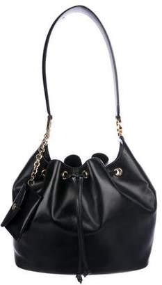 Salvatore Ferragamo Smooth Leather Bucket Bag