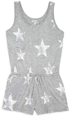 Flowers by Zoe Girls' Star-Print Romper - Little Kid